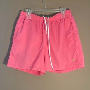 Polo by Ralph Lauren pink green short